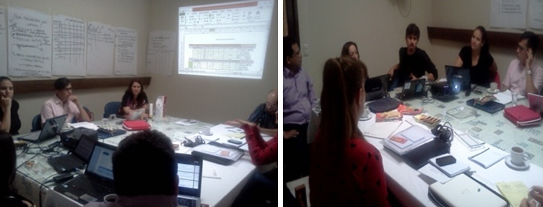 Reunión de Planificación Estratégica del Programa de Acceso Universal a Medicamentos en Latinoamérica, en Lima- Perú,  integrantes de RedLam.