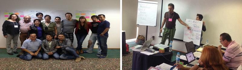 Participantes del Taller de Capacitación y planificación estratégica en Acceso  a Medicamentos y propiedad intelectual dictado por RedLAM en  la ciudad de MEXICO DF